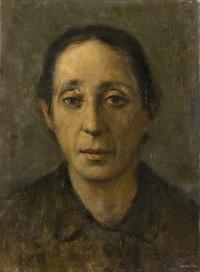 Sala 1. Gli inizi | Giancarlo Vitali. Nonna Regina. 1945