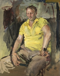 Sala 3. Ritratti | Giancarlo Vitali. Franco il falegname. 1975