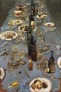 Sala 5. Tavole e still life | Giancarlo Vitali. Banchetto. 2002