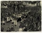La processione dei morti